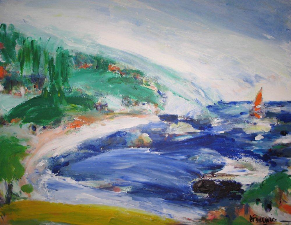 Taormine II - acrylique